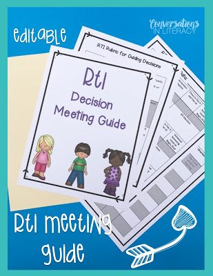 Tips for Making RTI Meetings Work