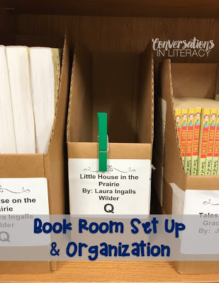 Book Room Set up and Organization