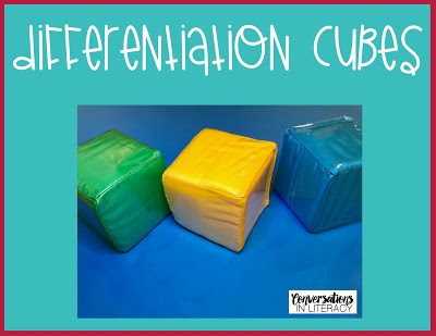 Roll It!  Differentiation Cubes