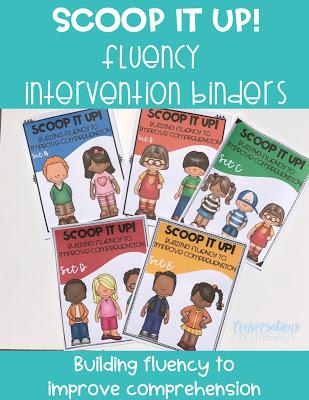 Fluency Intervention Binders