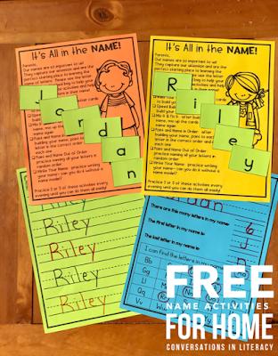 Fun Name Activities for Kindergarten