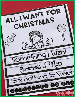 Fun Christmas Activities for elementary Christmas Flip books