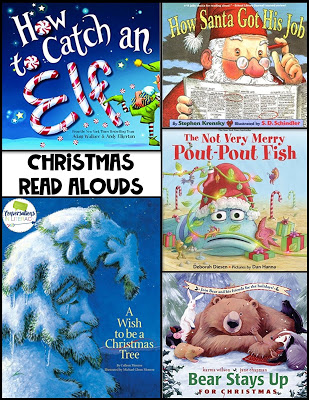 Christmas Holiday Picture Books for Elementary