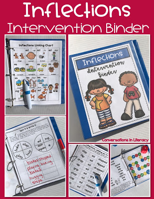 Inflectional Endings Activities