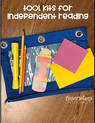 Using Tool Kits for Independent Reading