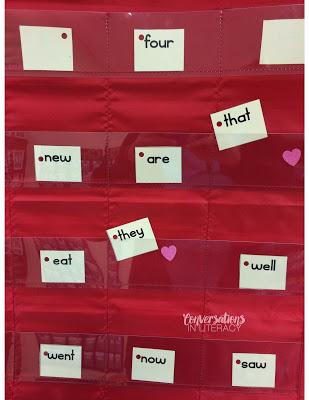 Valentine's Day Sight Word Activity