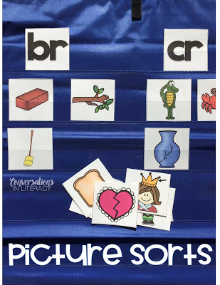 Picture Sorting Activities for Word Work