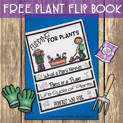 Flipping for Plants Life Cycle and Parts of a Plant Flip Book
