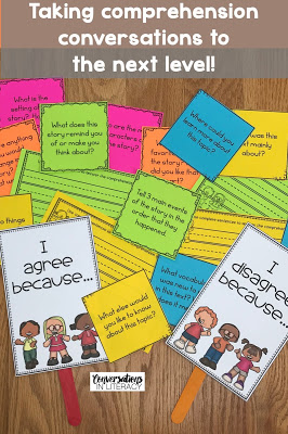 Reading Comprehension Questions for Deeper Conversations about Text