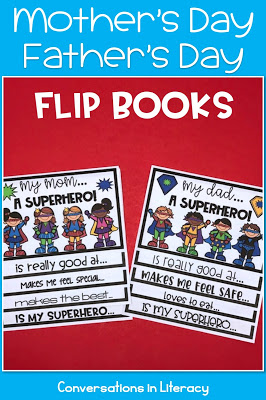 Mother's Day flip book, activities and ideas