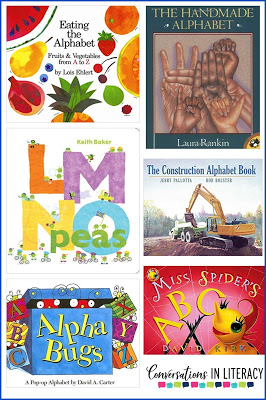 ABC Alphabet Books for Letter Recognition and Letter Identification Activities
