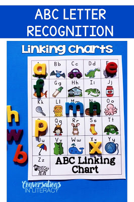 Linking Charts for Letter Recognition and Letter Identification Activities