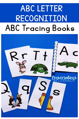 Tracing Books for Letter Recognition and Letter Identification Activities