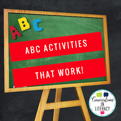 ABC Letter Recognition Activities That Work!