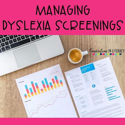 Make Managing Dyslexia Screenings Easier