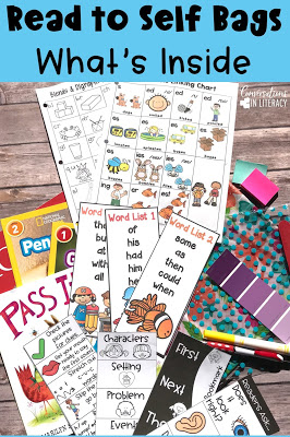 Read to Self Bags and Reading Tool Kits