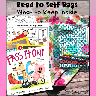 Read to Self Bag and Reading Tool Kits