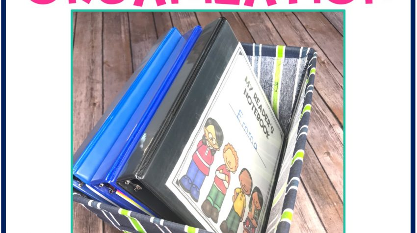 guided reading interactive reading notebooks, canvas storage bin