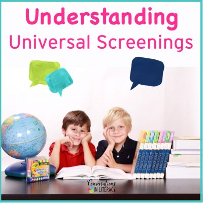 Understanding Universal Screenings