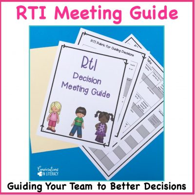 RTI Meeting Forms And Agenda