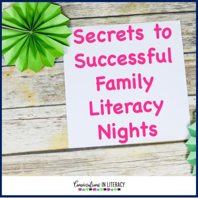 Secrets to a Successful Family Literacy Night
