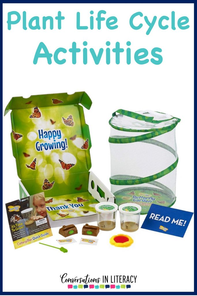 Plant Life Cycle Activities, projects and a FREE printable for your elementary classroom! Science writing activities and fun learning ideas for students. #flipbook #plants #scienceforkids #writingactivities #freeprintables #conversationsinliteracy #kindergarten #firstgrade #secondgrade #thirdgrade kindergarten, first grade, second grade, third grade