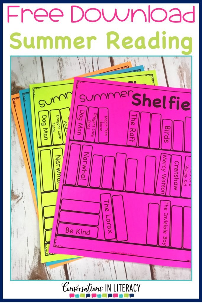 Summer Reading Ideas, summer reading activities and Programs that are easy to use and get kids excited about reading!  Includes a FREE resource and chart for summer reading challenge.  #guidedreading #summerreading #elementary #classoom #endofyear  #freedownload #conversationsinliteracy #kindergarten #firstgrade #secondgrade #thirdgrade kindergarten, first grade, second grade, third grade