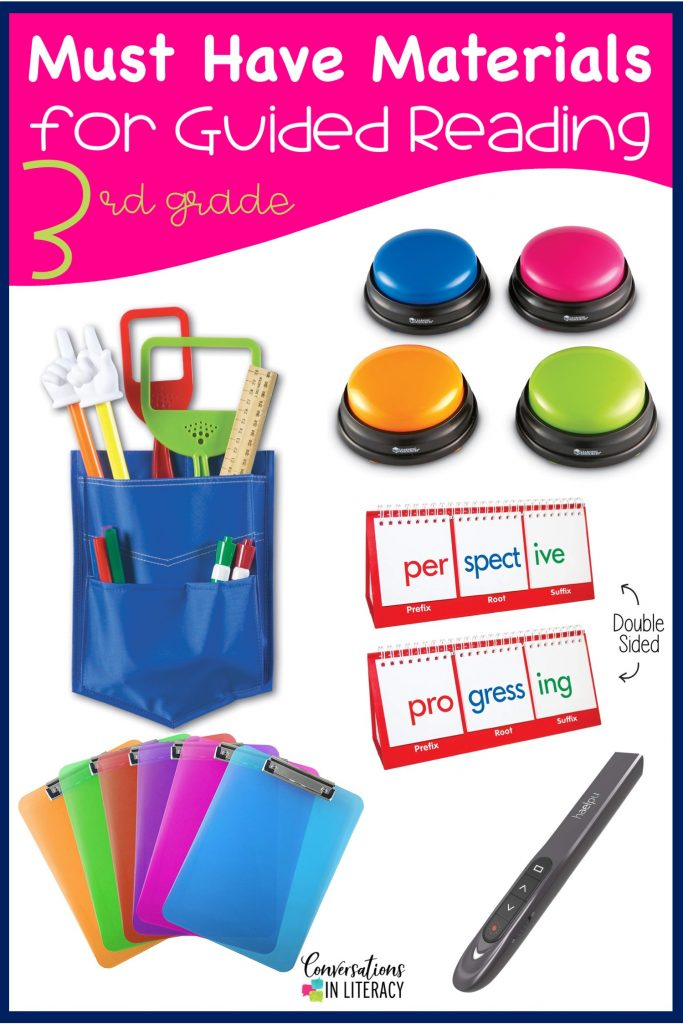 Guided reading must haves for organization and small group materials! #phonics #guidedreading #classroom #elementary #classroomorganization #conversationsinliteracy #kindergarten, #firstgrade #secondgrade #thirdgrade #fourthgrade #fifthgrade kindergarten, first grade 2nd grade, 3rd grade, 4th grade, 5th grade