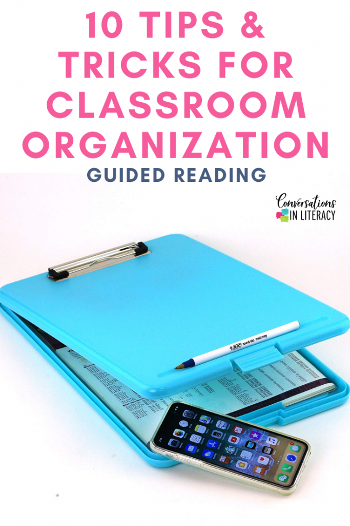 10 Easy Tips and Tricks to help you get your elementary classroom organized and decluttered! #kindergarten #firstgrade #guidedreading #secondgrade #thirdgrade #fourthgrade #fifthgrade #conversationsinliteracy #classroom #elementary #classroomorganization kindergarten, 1st grade, 2nd grade, 3rd grade, 4th grade, 5th grade