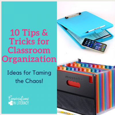 10 Tips & Tricks for Classroom Organization