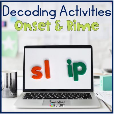 Onset and Rime for Decoding and Spelling