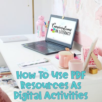 How to Use PDFs for Digital Learning Activities
