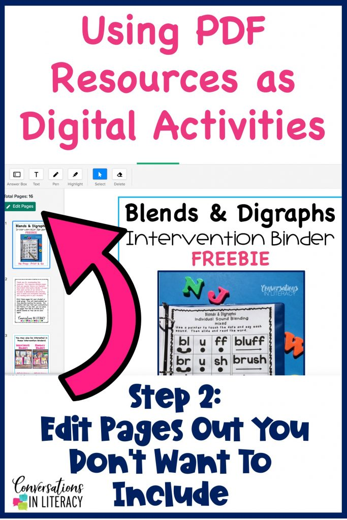 blends and digraphs activities by Conversations in Literacy