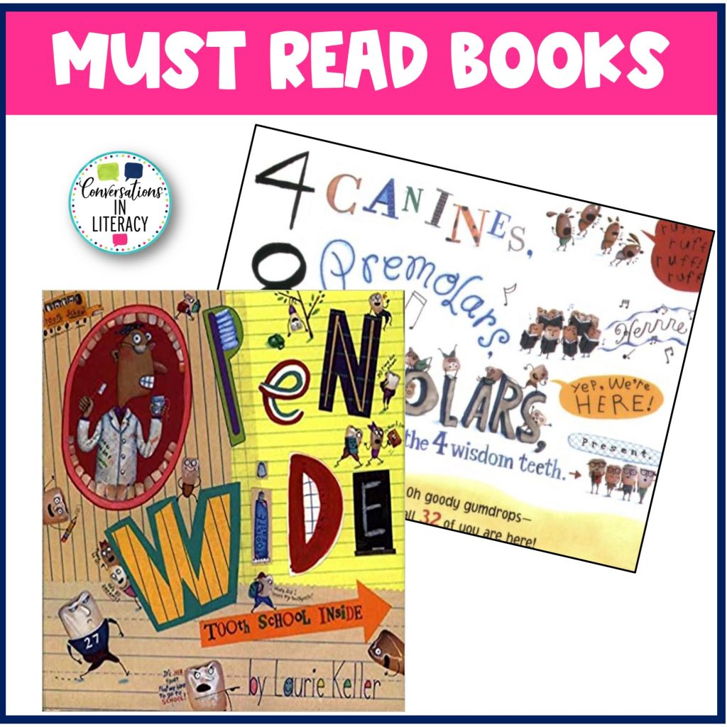 Open Wide Book for February by Conversations in Literacy