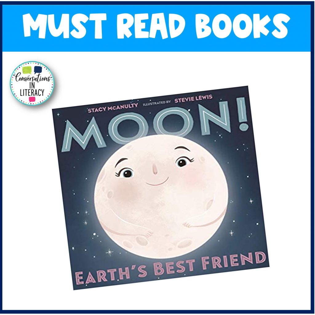 Moon book for Must Read Books for April by Conversations in Literacy