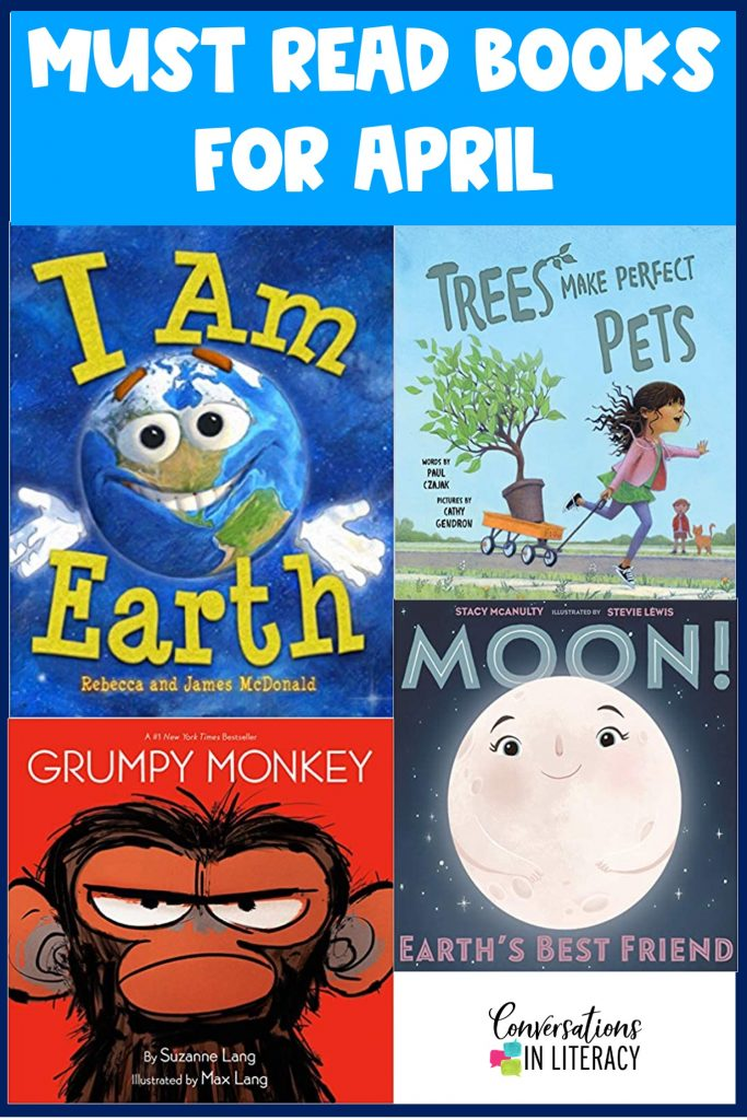 4 Must Read Books for April by Conversations in Literacy