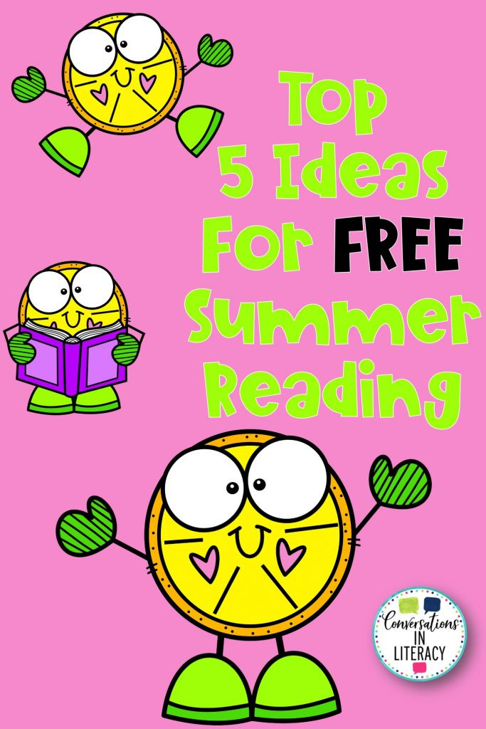 lemon clip art on pink background by Conversations in Literacy