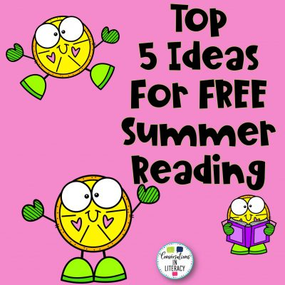 Top 5 Ideas for Free Summer Reading