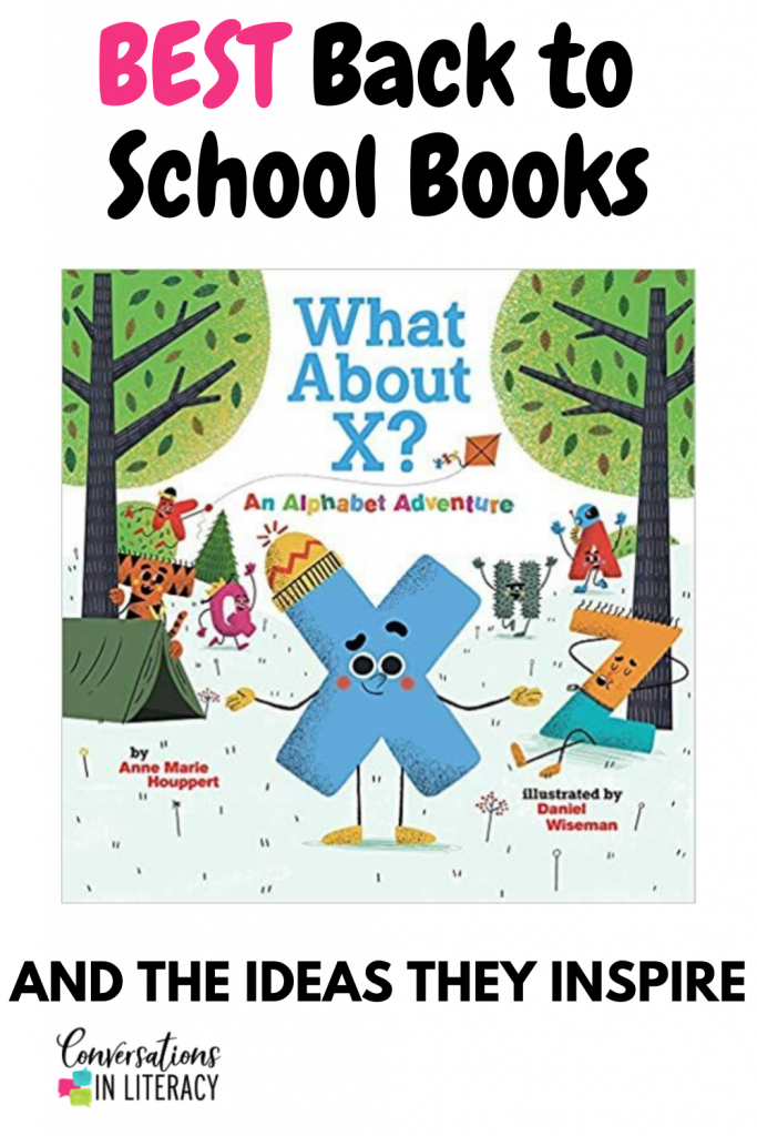 back to school book by conversations in literacy