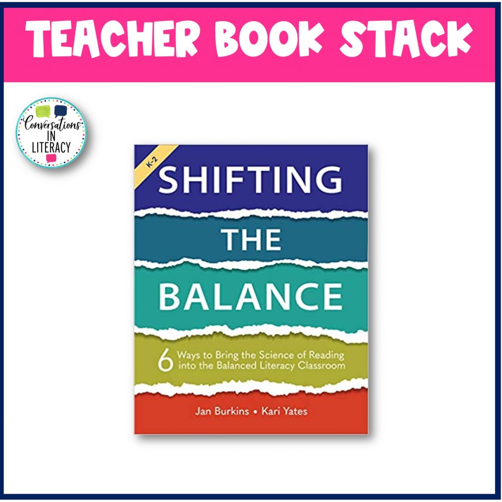 Shifting the Balance by Conversations in Literacy