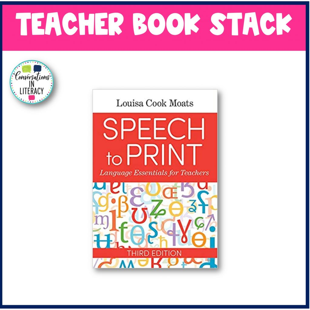 Speech to Print picture by Conversations in Literacy