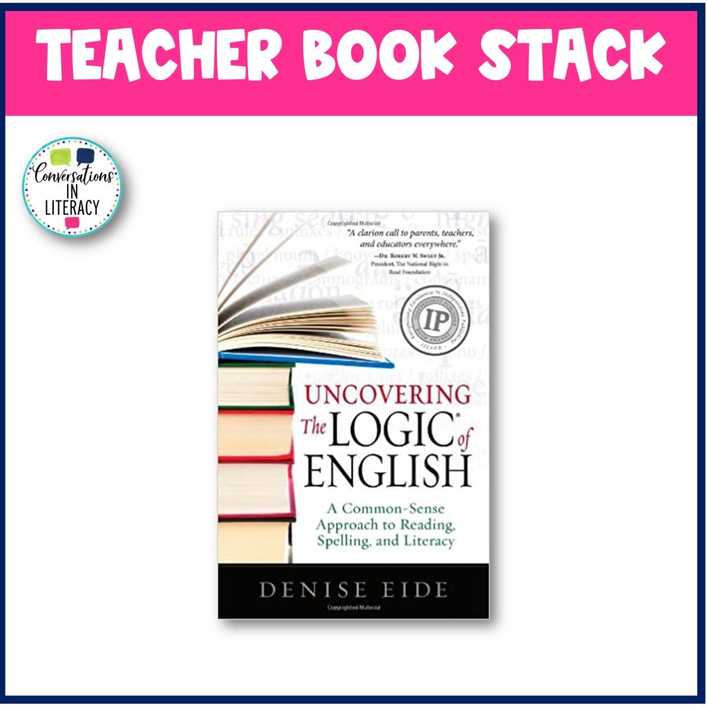 Uncovering the Logic of English picture by Conversations in Literacy