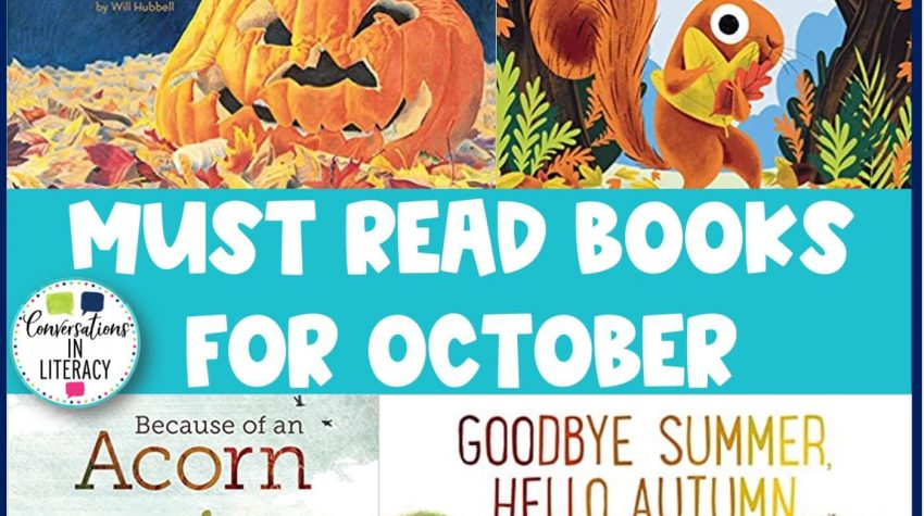 4 fall books by conversations in literacy